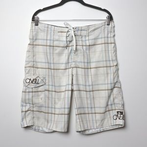 O'Neill | Plaid Swim Board Shorts